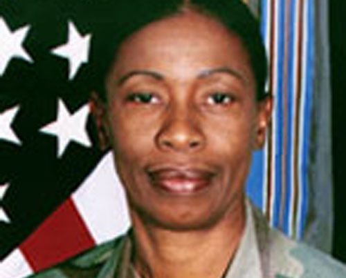 Command Sergeant Major Evelyn Hollis, USA Ret.