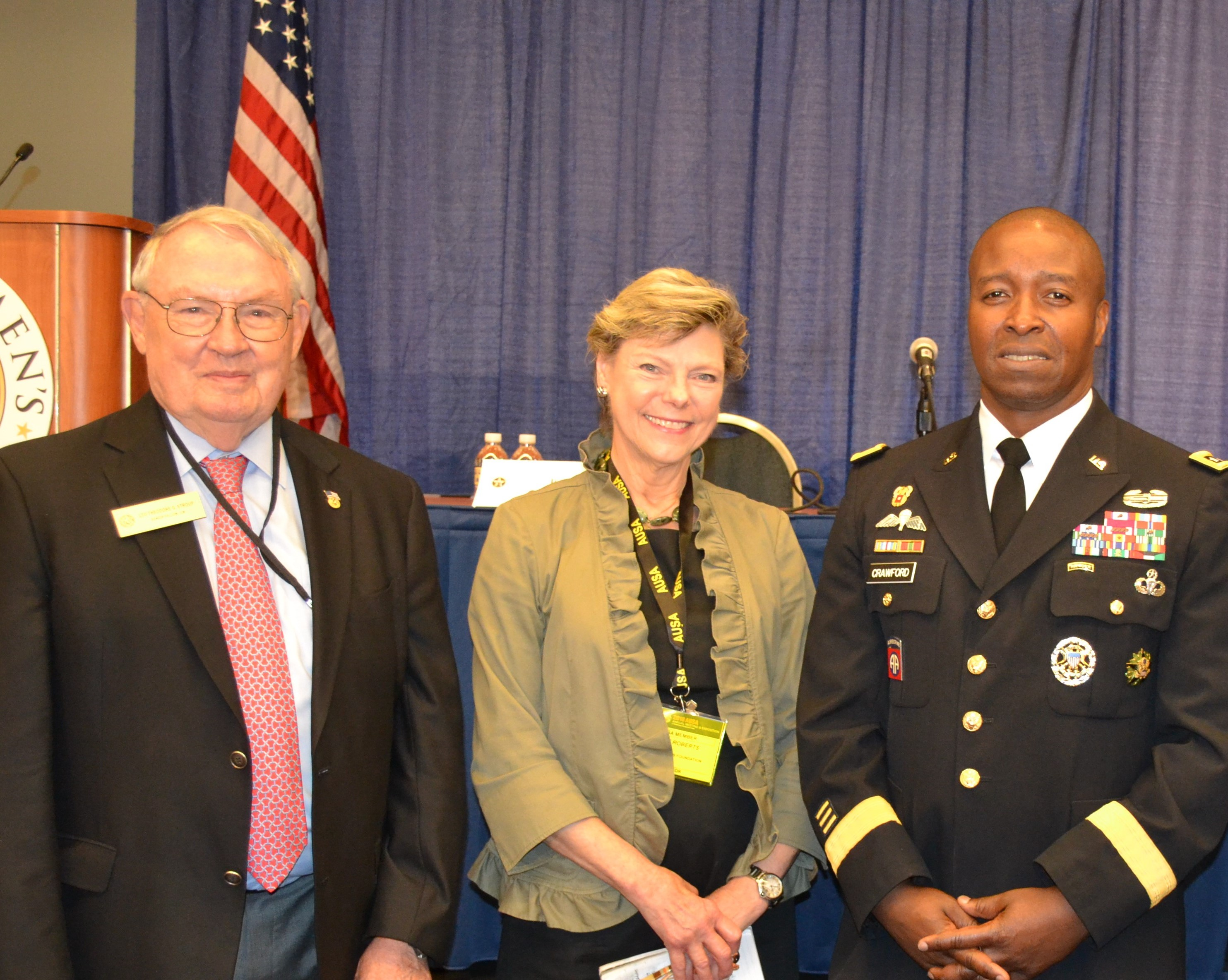 Cokie Roberts Headlines at U.S. Army Women's Foundation Program