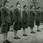 A group of women from The 6888 Central Postal Directory Battalion