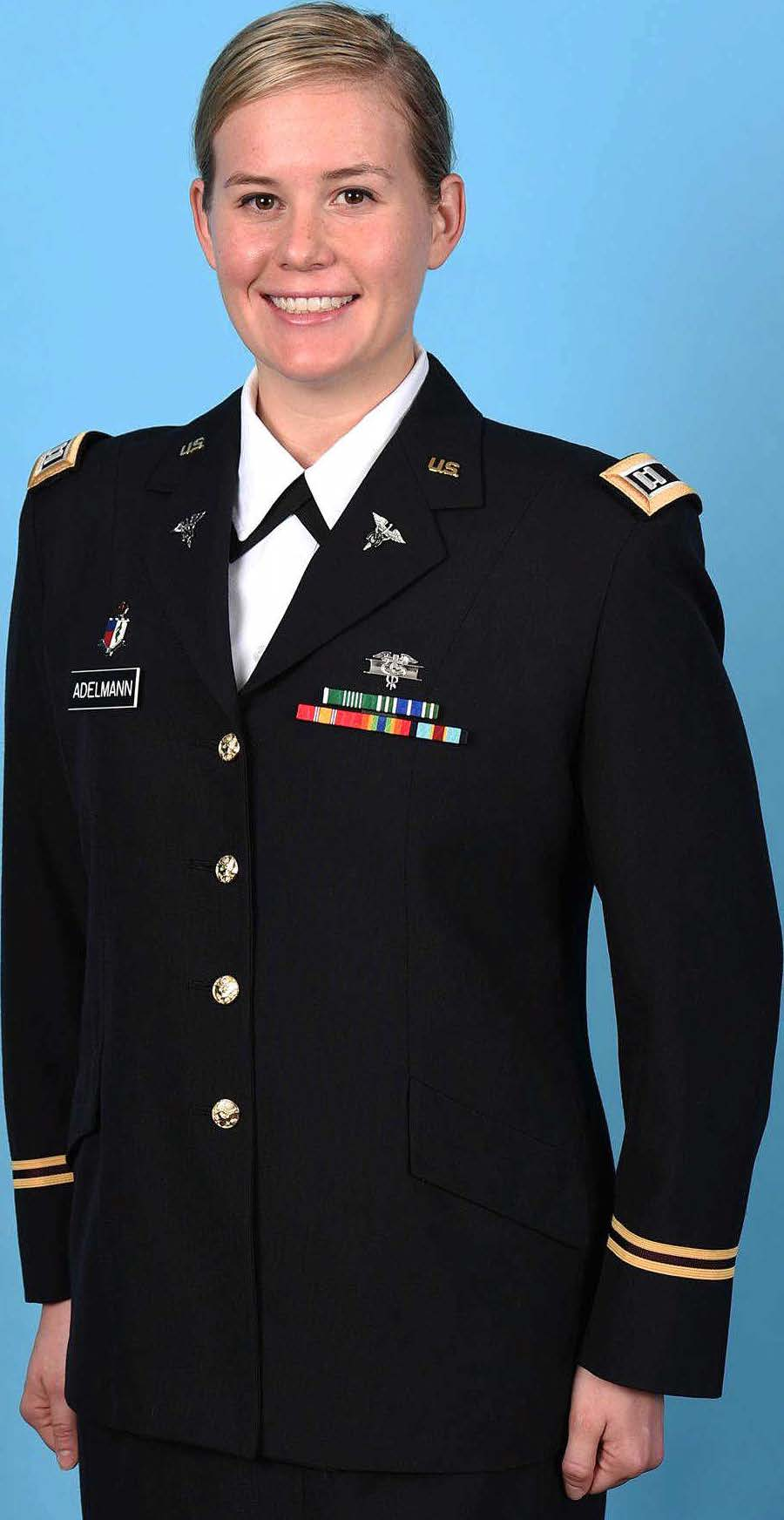2020 US Army Women's Foundation 2020 Scholarship Recipient Emily Adelmann