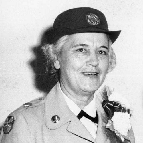 2013 US Army Women's Foundation Hall of Fame Inductee Carolyn James