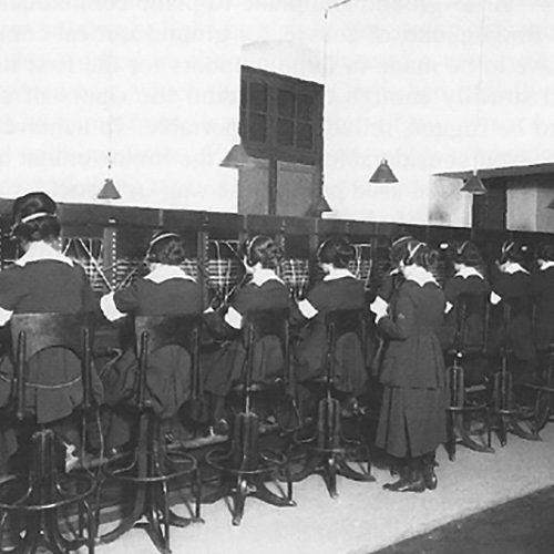 "2019 US Army Women's Foundation Hall of Fame Inductee The First Women Switchboard Operators, WWI – ""The Hello Girls"""