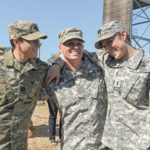 The female army rangers