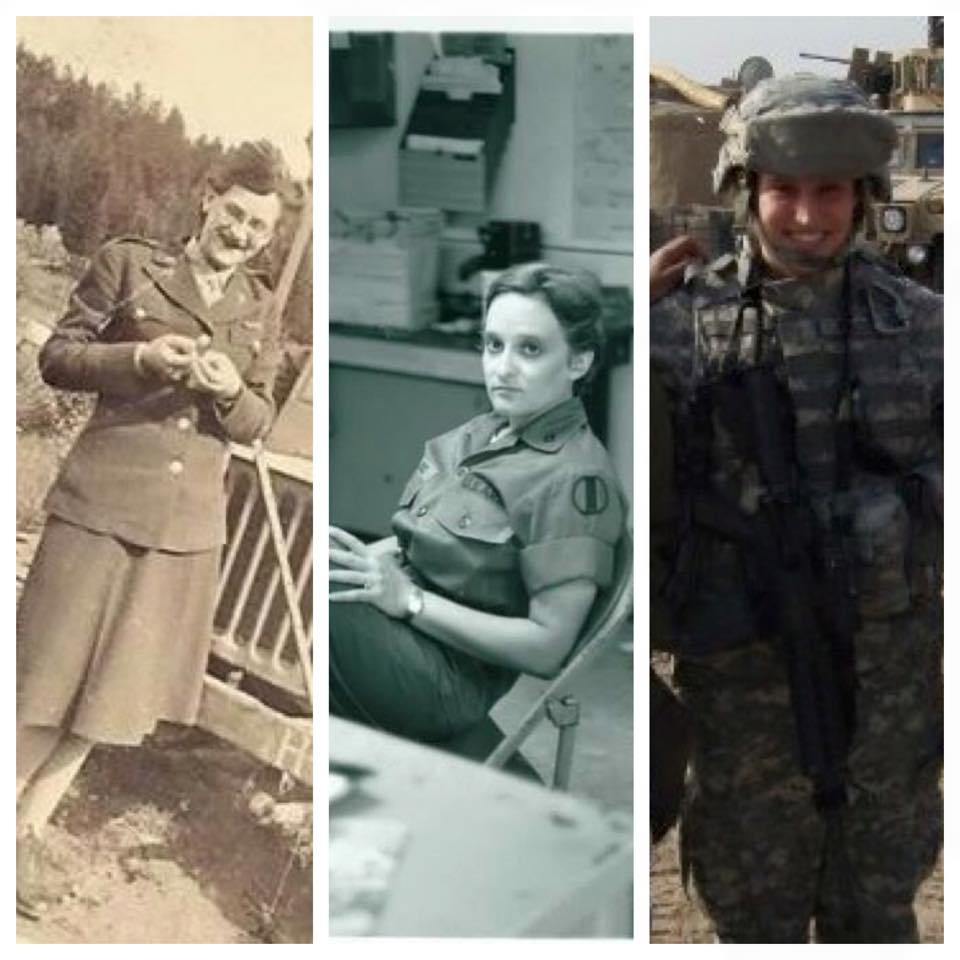 Share Your Story:  Three Generations of Women Serving the US Army