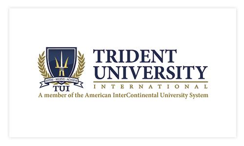 Trident University International New Logo