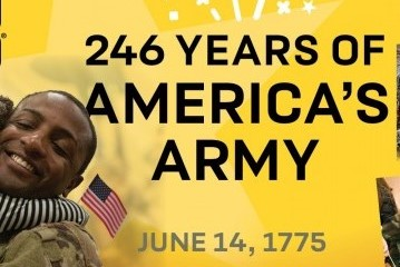 U.S. Army Birthday 2021 Events  – 246 Years of Service to the Nation!